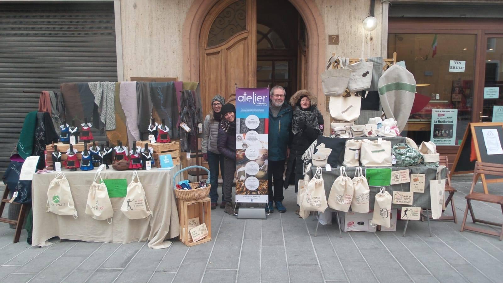 Anche Atelier Nouveau partecipa alla Fiera di Sant'Orso